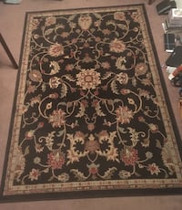 Turkish Rug- Dark Brown floral area rug Pensacola, 32501