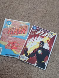 two DC Comics The Flash comic book packs London, N6K 5B5