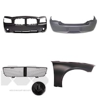 06-10 Dodge Charger bumpers. Grill and right side panel  Washington