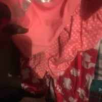 women's red and white floral dress Opelousas, 70570