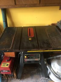 Computerized  black Electronic table saw St Catharines, L2M 7A6