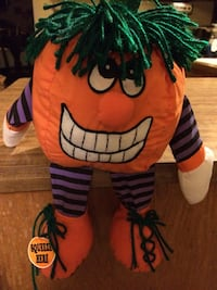 Halloween Punpkin that when Foot is squeezed make Halloween noise Whitefish Bay, 53217