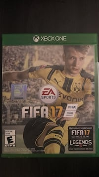 EA Sports Fifa 17 Xbox One game Bristow, 20136