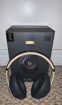 Beats studio 3 wireless special edition shadow grey and gold
