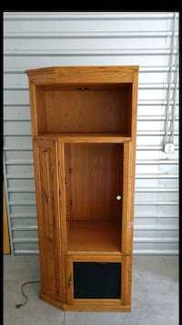 2 matching side-side entertainment cabinets