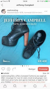 Jeffery campbell Vormedal, 5545