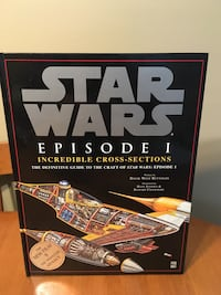 Star Wars episode 1 cross section book