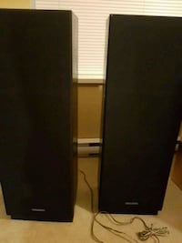 black and gray tower speaker Pitt Meadows, V3Y 1Z2