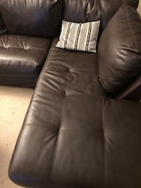 Sectional couch Leather Alexandria, 22305