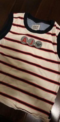 white and red striped polo shirt Dorval, H9P