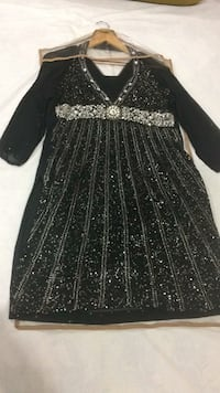 black and gray long-sleeved dress Ajmer, 305004