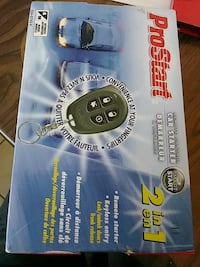 2 in 1 remote starter keyless entry