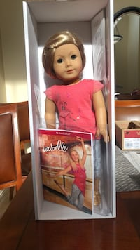 isabelle american girl doll with book good condition Las Vegas, 89141