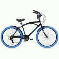 """""""26"""" new bayside men's bicycle blue/black color Long Beach, 90805"""
