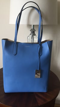 blue Michael Kors leather tote bag New York, 11374