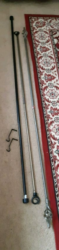 Rods and hardware ( pick up in Airdrie)