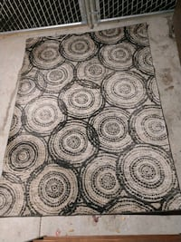 Modena brand Abstract Circles Design Large Area Rug in neutral colors Beaverton, 97007