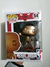 Michael Jordan bronze Funko pop