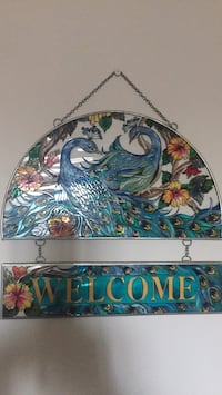 green, white, and blue floral wall decor Buena Park, 90620