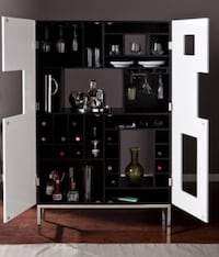 black and gray wooden cabinet Los Angeles, 90047