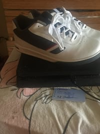 White and red n grey polo shoes  New York, 10475