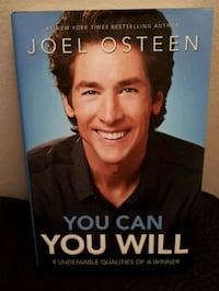 Book: You can You will by Joel Osteen