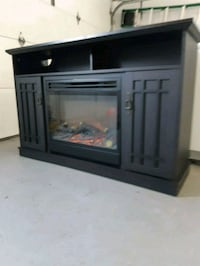 Fireplace dark brown Laval, H7P 5S7