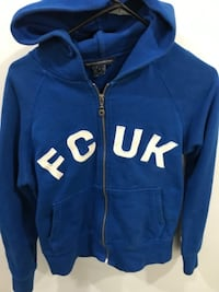 Woman's FCUK (French connection New York) hoodie size large Surrey