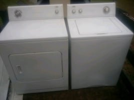 Whirlpool estate washer and dryer
