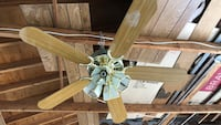 Vintage Ceiling Fan/Light, Pick up in Stouffville, Price is firm Whitchurch-Stouffville