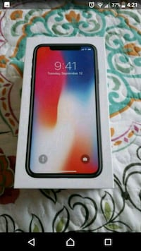 Brand Iphone X 64G Gery  Surrey, V3T 5H3
