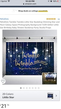 Twinkle Twinkle Little Star Baby Shower Decorations Nampa, 83686
