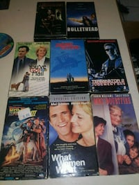 assorted DVD movie case lot Conyers, 30013