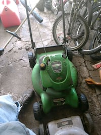 green and black push mower Pittsburgh, 15234