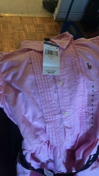 toddler's pink button-up shirt Ottawa, K1K
