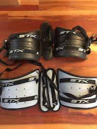 Lacrosse spear protectors- peewee and bantam size, good shape 25.00 each 40 for both Calgary, T3L