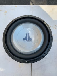 "JL audio 10"" subwoofer 10W1v2 Montague, 07827"