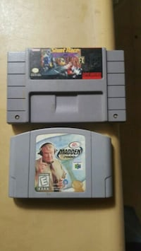 N64 & super nes game Baltimore, 21215