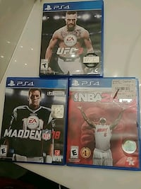 Ps4 video games  McHenry, 60050