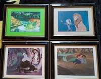 Disney framed collectors puctures Toronto, M1M 1R5