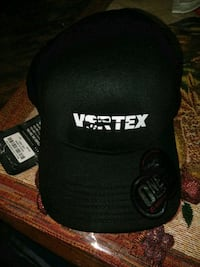 New original Vortext Black Cap. L/XL San Francisco
