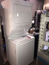 New Frigidaire 27in stackable washer and electric dryer 6 months warra Pikesville, 21208