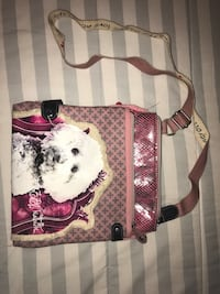 Pink/white girls bag South Bend, 46615