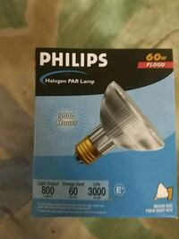 Philips Halogen Lamp 60w bulbs 1917 mi