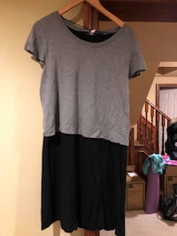 Gray and Black Kensie Dress, Casual, Worn TWICE, Great Condition! - FOR SALE!  Grimsby