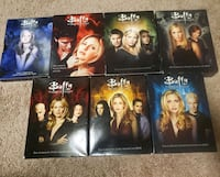 Buffy the vampire slayer complete series on dvd Orangeville, L9W