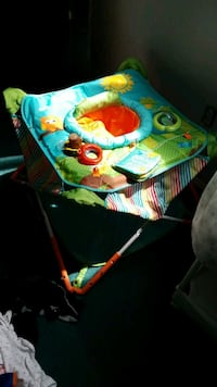 baby's blue and green activity gym Laurel, 20708