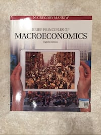 Textbook Principles of Macroeconomics by Mankiw, N. Gregory , 8th Edition