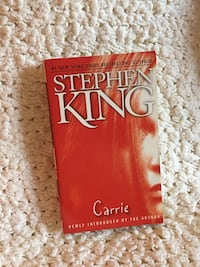 Carrie by Stephen King  Montreal East