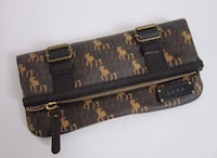 L.A.M.B. Brown clutch New without tag